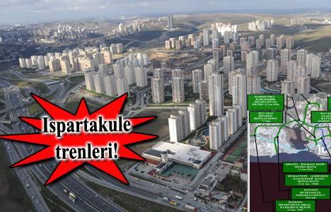 Ispartakule'ye metro ne zaman gelecek?