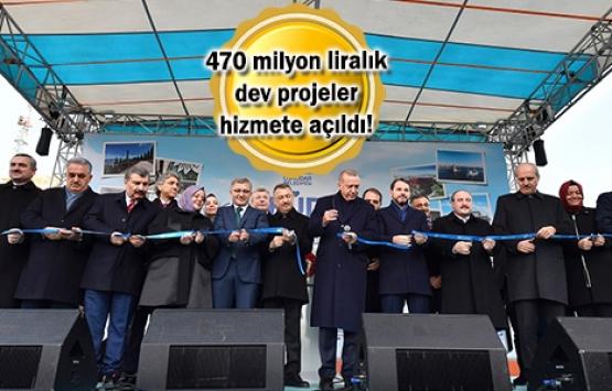 Üsküdar'daki 9 dev proje açıldı!