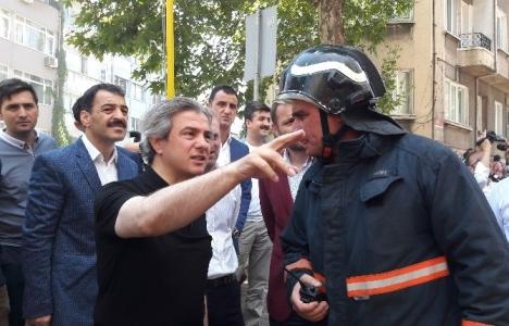 Ahmet Misbah Demircan'dan Cihangir sakinlerine ziyaret!