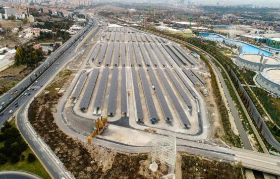 Ankapark'taki otoparkın üzerine güneş enerjisi santrali kuruldu!
