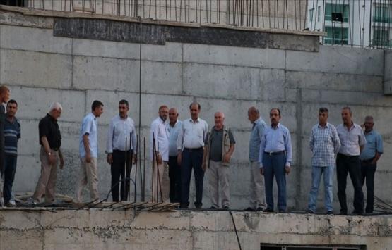 Diyarbakır'da cami yapımını