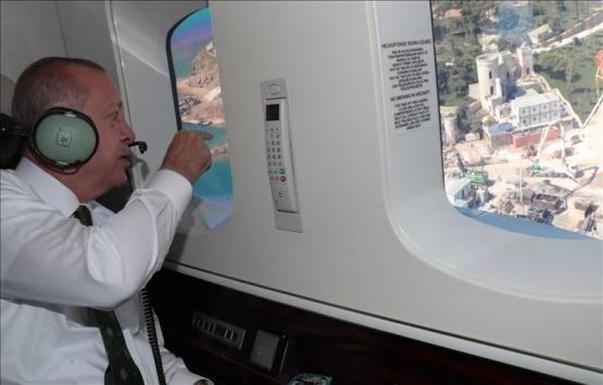 Cumhurbaşkanı Erdoğan Yassıada'daki