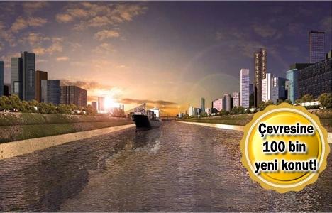 Kanal İstanbul güzergahında