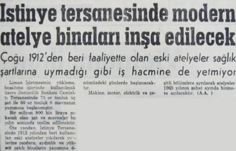 1964 yılında İstinye