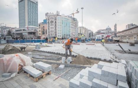 Taksim projelerinde son
