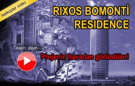 Bomonti Rixos Residence'ın havadan yeni görüntüleri!