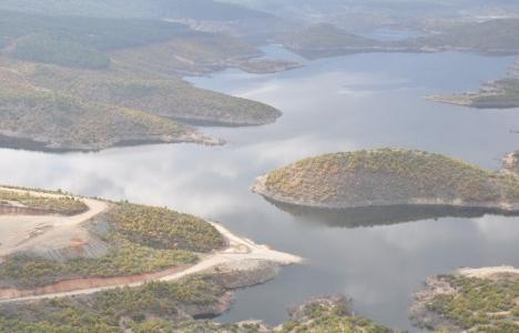 Adatepe Barajı'nın suyunu