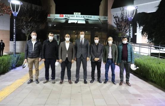 Silivri Belediyesi'nden İzmir'e hasar tespit ekibi!