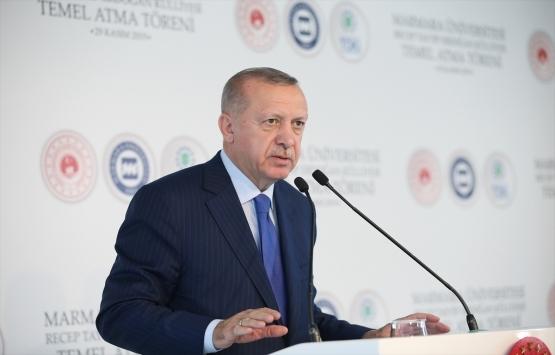 Marmara Üniversitesi Recep Tayyip Erdoğan Külliyesi'nin temeli atıldı!