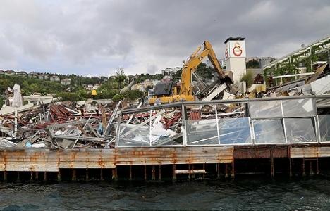Galatasaray Adası'nın yıkım kararı İBB'den!