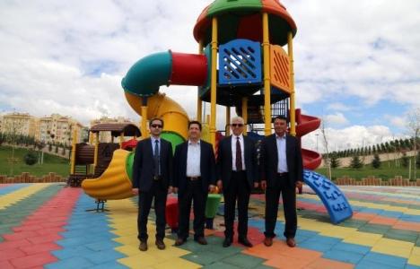 Aksaray Gençosman Parkı'nın