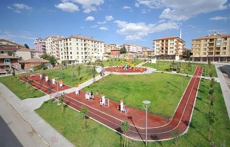 Ankara Altındağ'da 40 dönümlük park için çalışmalar sürüyor!