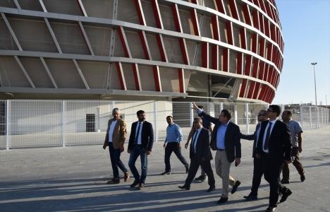 Gaziantep Arena inşaatında