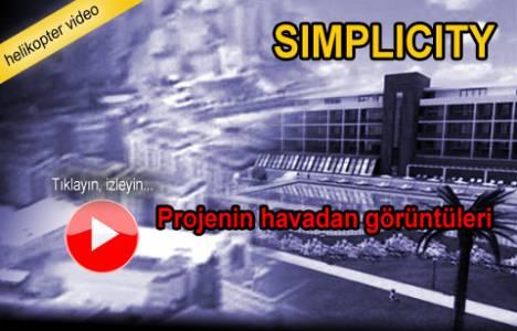 Simplicity Çekmeköy'ün havadan