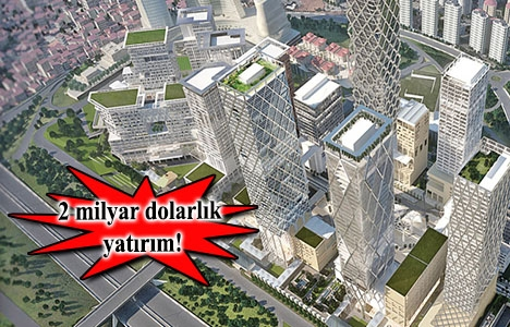 İstanbul Finans Merkezi'nde