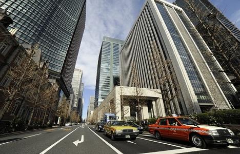 Japonya'da binaların yüzde