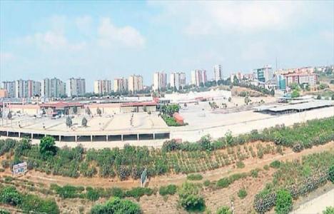 Adana'daki CarrefourSA arazisinin
