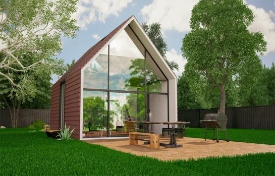 İBB'nin 3 boyutlu yazıcıyla inşa ettiği evlere yoğun ilgi!