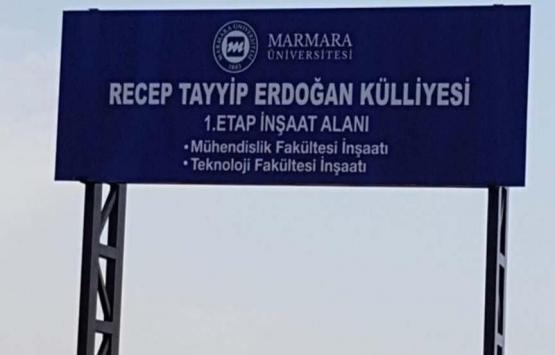 Marmara Üniversitesi Recep Tayyip Erdoğan Külliyesi'nin ihalesi iptal edildi!