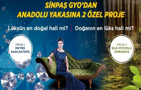 Sinpaş GYO Sancaktepe ve Ümraniye projelerine ön talep toplanıyor!