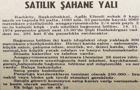 1974 yılında Şaşkınbakkal'da