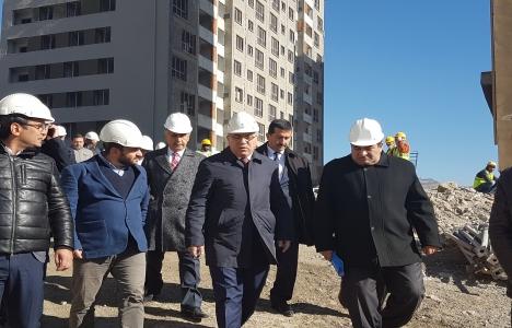 Ergün Turan Ankara şantiyelerinde incelemelerde bulundu!