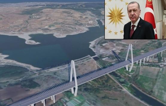Cumhurbaşkanı Erdoğan'dan Kanal İstanbul talimatı!