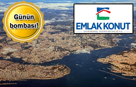 Emlak Konut'tan İstanbul'da