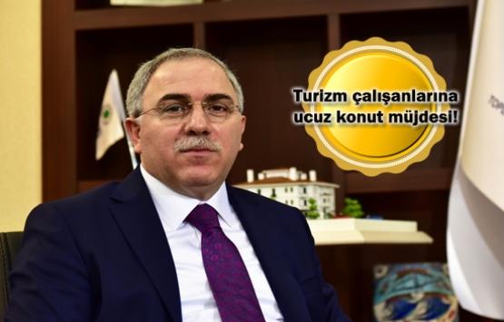 TOKİ'den turizm çalışanlarına müjde!
