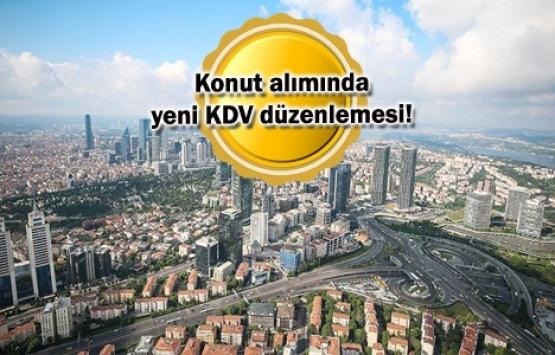 Konut alımlarındaki KDV istisnası genişletildi!