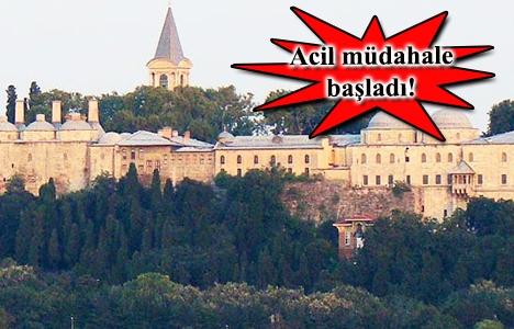 Topkapı Sarayı Müzesi yıkılma tehdidiyle karşı karşıya!