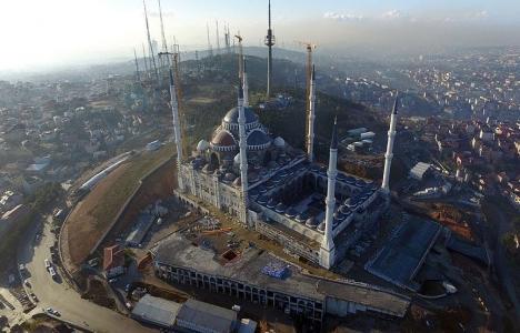 Çamlıca Camii havadan