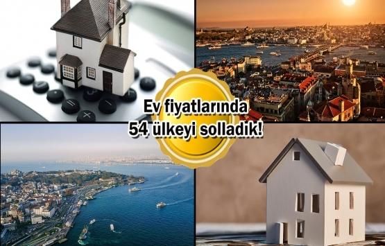 Türkiye konut fiyat artışında 5 çeyrektir lider!