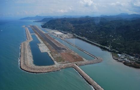 İkinci denize dolgu havalimanı Rize-Artvin'e yapılacak!