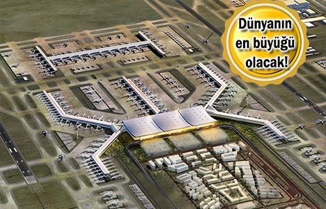 3. Havalimanı'nda inşaat yarılandı!