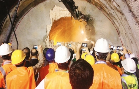 Limak'ın tüneli 2015'te