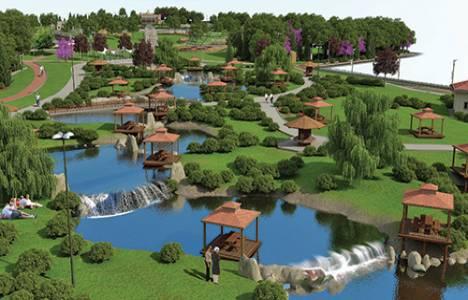 Türkiye'nin ilk kelebek temalı parkı Kelebekler Vadisi inşa edildi!