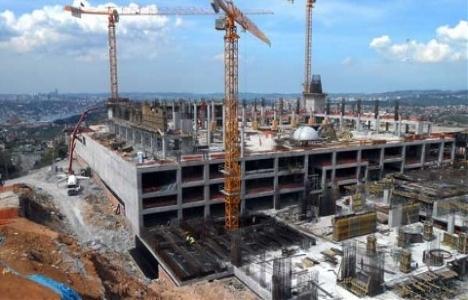 Çamlıca Cami'nin inşaatının yüzde 65'i tamamlandı!