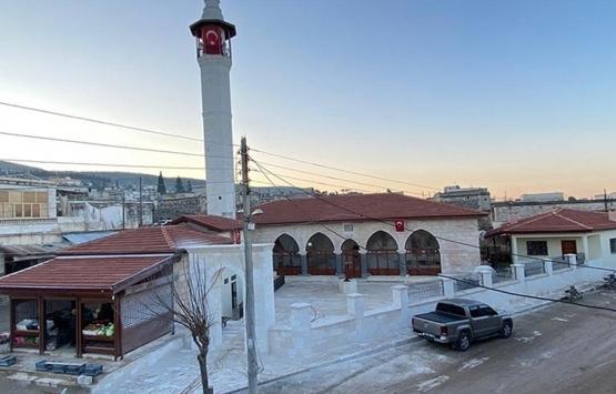 Afrin'deki Ömer Bin Hattab Camii ve Nebi Huri Türbesi restore edildi!