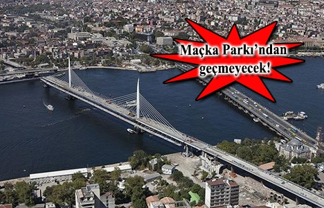 Dolmabahçe-Levazım-Baltalimanı-Ayazağa Tünelleri'nin planı