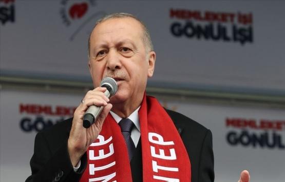 Cumhurbaşkanı Erdoğan: Gaziantep'te 10 bin 830 yeni derslik inşa ettik!