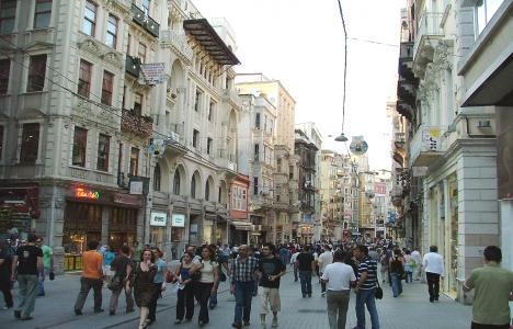 Beyoğlu'ndaki cadde ve