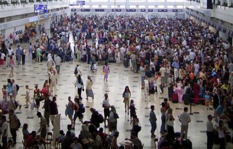 İngiltere'den Antalya'ya gelen turist sayısı yüzde 2.5 arttı!
