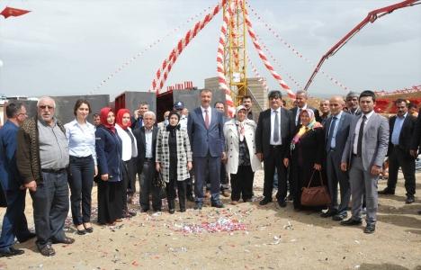 Kırıkkale Bahşılı'daki 156 dairelik konut projesinin temeli atıldı!