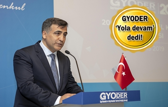 Feyzullah Yetgin yeniden GYODER Başkanı oldu!
