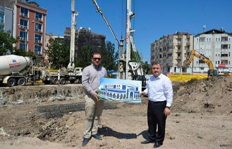 Ordu Fatsa Belediyesi'nin yeni bina inşaatı başladı!