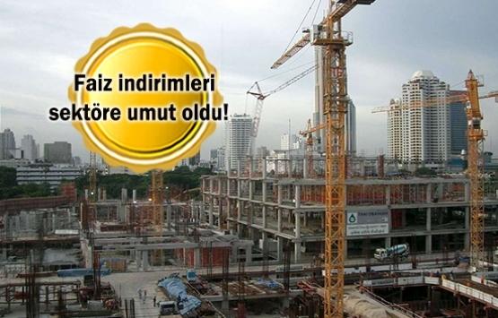Konut kredisi faiz indirimleri inşaata güveni yükseltti!