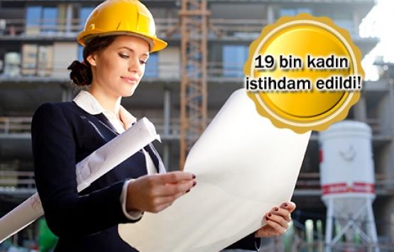 İnşaat sektörüne kadın eli değiyor!