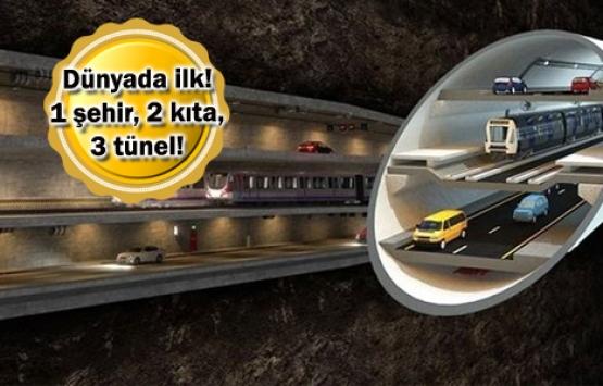 3 Katlı Büyük İstanbul Tüneli'nin ihale çağrısı Aralık'ta yapılacak!