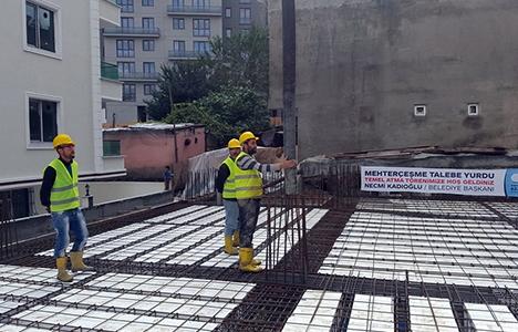 Esenyurt Mehterçeşme Talebe Yurdu inşaatı başladı!